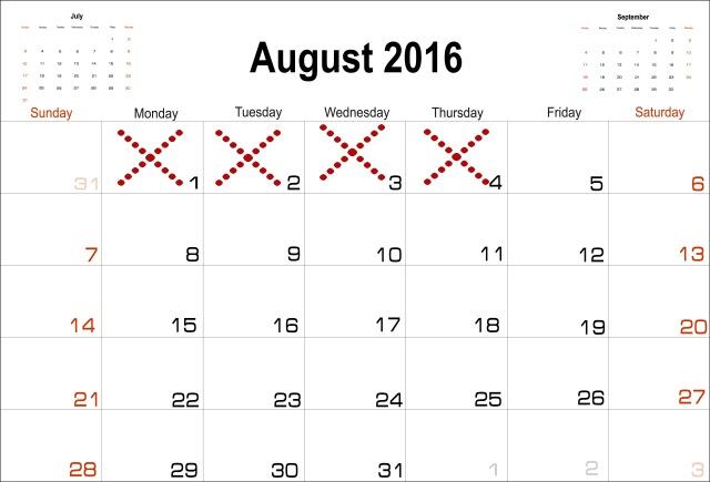 Aug 5