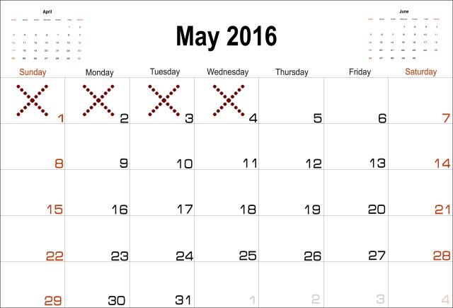 may 4th...